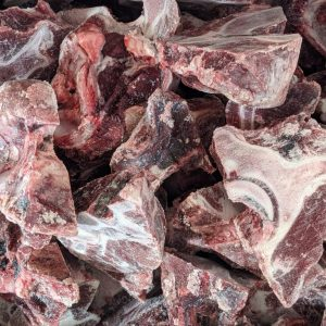 Beef Neck - Sliced - 25# Bulk Case