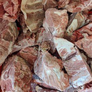 Pork Neck - Sliced - 25# Bulk Case
