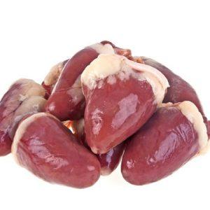 Chicken Hearts - 1# Bag