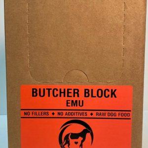 Emu Butcher Block - 4x10# Box