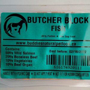Fish Butcher Block - 4x10# Box - 227g Portion