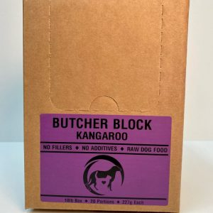 Kangaroo Butcher Block - 4x10# Box