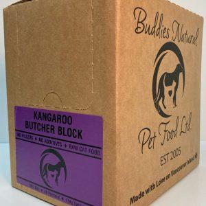 Cat Kangaroo Butcher Block - 10# Box