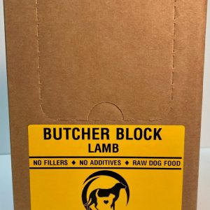 Lamb Butcher Block - 4x10# Box