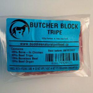 Tripe Butcher Block - 4x10# Box - 227g Portion